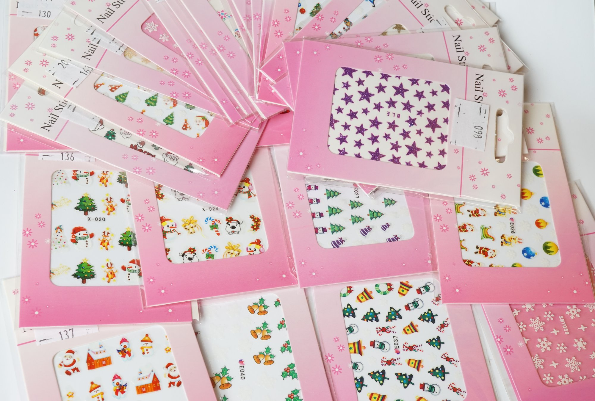 gs nails nail tattoos sticker set weihnachtsmotiv 15 b gen. Black Bedroom Furniture Sets. Home Design Ideas