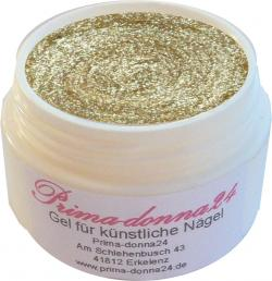 UV Gel Loly Pop Glitter Champagner 5ml MADE IN GERMANY