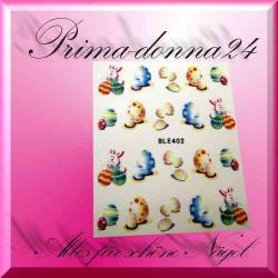 Nail Tattoos 073 Sticker Water Ostern Hase Eier