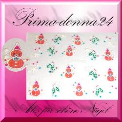 Nail Tattoos 021 Tattoo Sticker Weihnachten Winter
