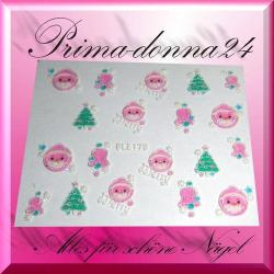 Nail Tattoos 059 Tattoo Sticker Weihnachten Winter