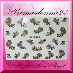 Nail Tattoos 049 Tattoo Sticker Blüten