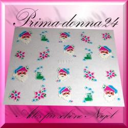 Nail Tattoos 061 Tattoo Sticker Weihnachten Winter