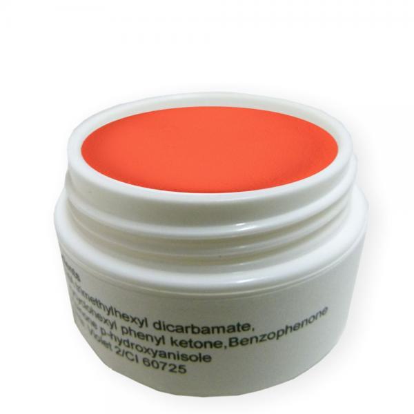 5g ca.15ml Acryl Puder Neon Orange Pulver Acrylpulver Acrylpuder