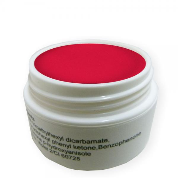 5g ca.15ml Acryl Puder Pure Red Pulver Acrylpulver Acrylpuder